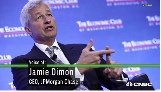 JPMorgan CEO Dimon Blasts U.S. Position, 'Embarrassment Being American'